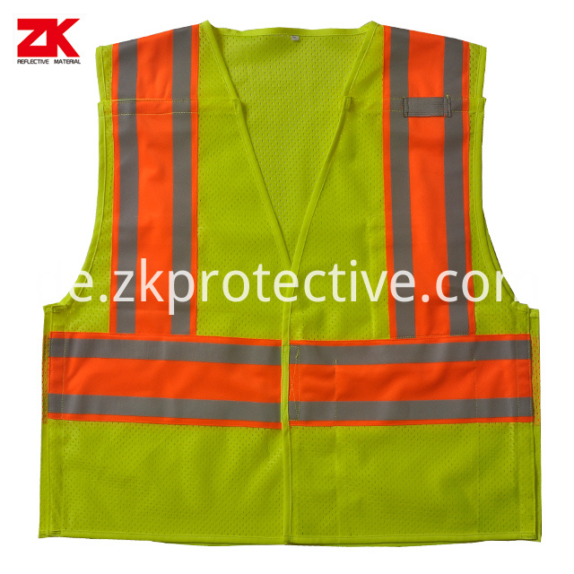 Safety Vest With 2 Tapes