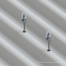 Sistema barato del soporte del panel solar Techo del azulejo del amianto L solución