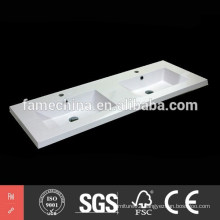 double sink bathroom 2015 factory direct poly marble resin double sink bathroom