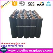 Preto Fita de duto / fita de PVC Fita adesiva de tubo