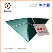 Индивидуальная упаковочная подарочная бумажная коробка для конфет / шоколада