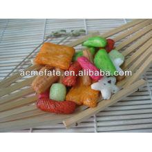 Cantidad caliente Galleta japonesa mezclada del arroz
