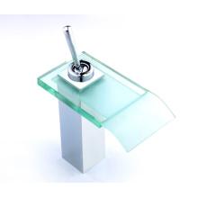 Glas Einhebel-Waschtischmischer
