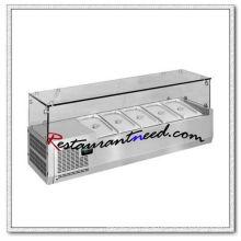 R330 4 pans/5pans/6pans/7pans/8pans/9pans Static Cooling Countertop Refrigerator
