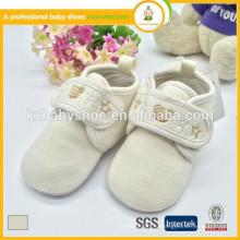 Оптовые 2015 горячие продажи 0-24 месяца новорожденной ткани мягкой сенсорной обуви ребенка
