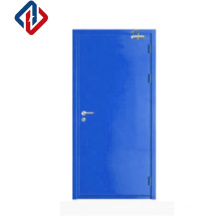 BS476 Customised size  Fire Rated Steel flush Door Steel Fire Proof Door For Commercial Use