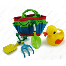 Colorful 3pcs and garden tool set for kids playing gift