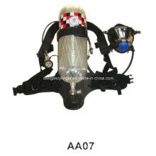 Ensemble d'appareils de respiration Scba 9L avec cylindre à fibre de carbone