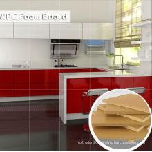 Waterproof and Envionmental WPC Foam Board for Kitchen Cabinet