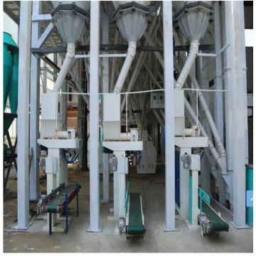 150tons of Wheat Flour Mill Machine Plalnt