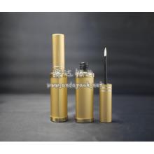 tube en aluminium de l'eye-liner doré