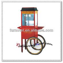 K131 Luxuriöse elektrische Popcornmaschine mit Wagen