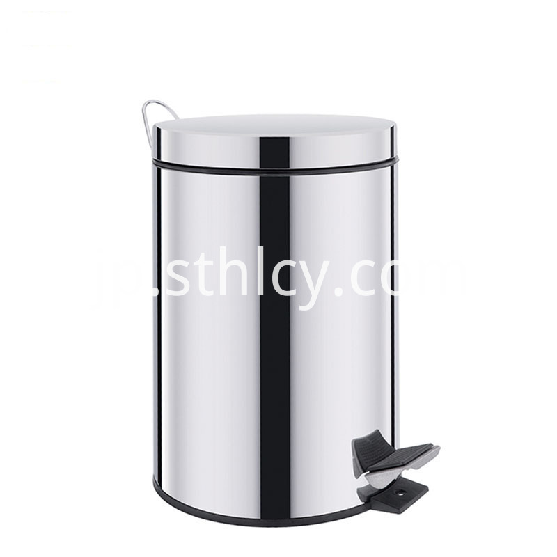 Kitchen Stainless Steel Trash Can