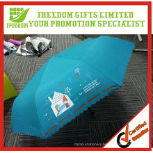 Cheap Foldable 190T Rain Umbrellas