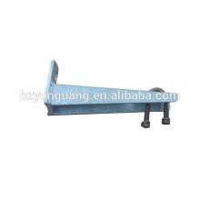 Suporte de monopólos suportes de carga pesada pólo utilitário de linha de hardware para peças de pólo da lâmpada de linha elétrica material de aço
