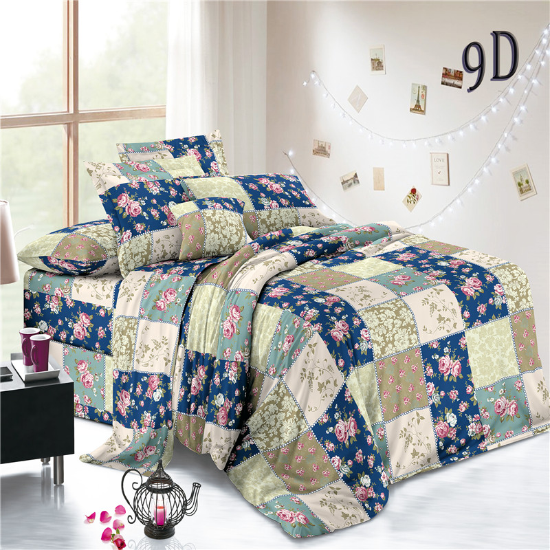 Popular Woven Polyester Floral Sheets