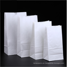 Bolsas de papel de embalaje de pan baguette impresas personalizadas