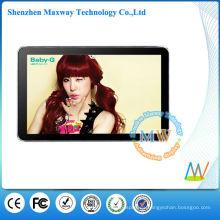 cartel digital de aluminio marco tipo delgado de 19 pulgadas lcd