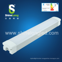 Newest IP65 LED Tri proof super Brightness Square linear vapor (dust proof,waterproof, moisture proof), 5 year warranty