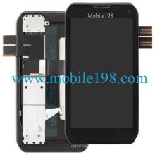 para Motorola Photon Q 4G Lte Xt897 Pantalla LCD y digitalizador con marco