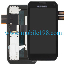for Motorola Photon Q 4G Lte Xt897 LCD Screen and Digitizer with Frame