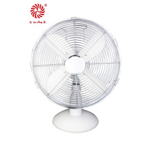 "10"" Metal Table Fan for Promotion Gift in Chrome Color"