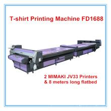 Impresora digital de camisetas con camiseta