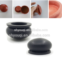 High quality custom rubber diaphragm / rubber suction cup PTFE reinforced