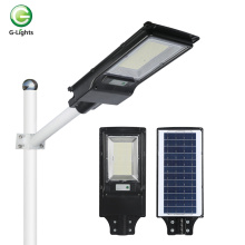 Farola solar led integrada ABS 100w para exteriores