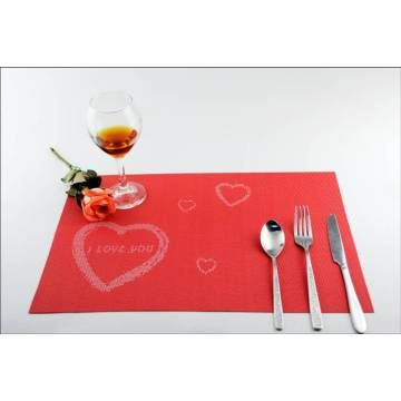 Festival love PVC mangiare cuscino decorativo opaco