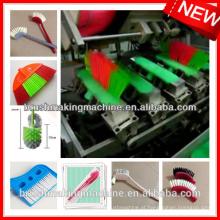 Máquina de perfuração e de tufagem automática da escova do CNC de 5 linhas centrais / máquina da escova