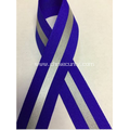blue reflective sewing ribbon