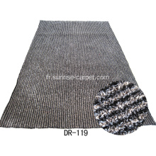 Tapis Shaggy bande polyester