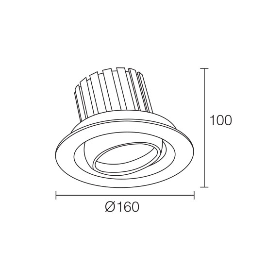 LED Downlight Surface Mount