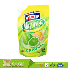 Guangzhou Maibao High Barrier Beverage Package Custom Stand Up Pouches With Nozzle For Juice
