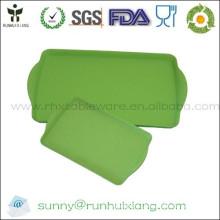 Rectangle bamboo fiber serving tray L43*W27cm