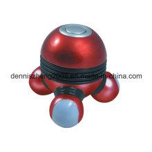 Mini masajeador manual con alimentación de batería