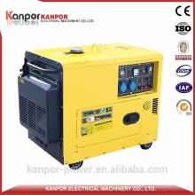 Kanpor ISO Certificate 1500/1800 5kw Portable Diesel Generator with Best Price