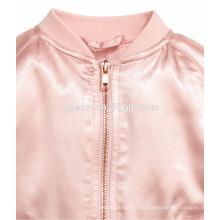 Material de tacto suave para niños outwear personalizado datin varsity jacket