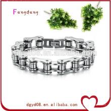 Chaîne de vélo de motocycliste bracelet en acier inoxydable de bijoux de mode / bracelet de chaîne de moto en acier inoxydable
