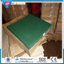 Square Rubber Tile Hotel Rubber Mat Rubber Factory Direct Outdoor Rubber Tile Anti Slip Rubber Tiles