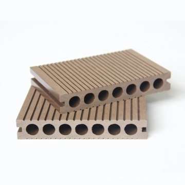 2020 Hot sale hollow anti-uv wood plastic composite wpc decking floor