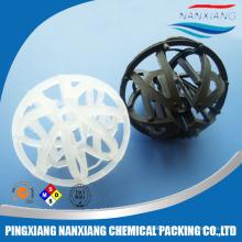 Plastic Tri-packs ball for random packing