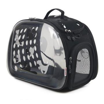 Bolso de transporte Crystal Pet BK