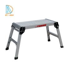 plate-forme d'échelle d'escalier se pliante en aluminium portative