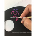 Весело красочные Радуга удаления царапин листа бумаги скреста карточки искусства принтер