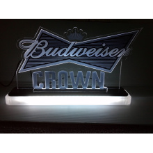 Budweiser bar light display