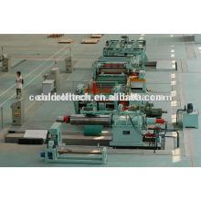 0.3-3mm Cut to Length Line para bobinas de aço laminadas a frio