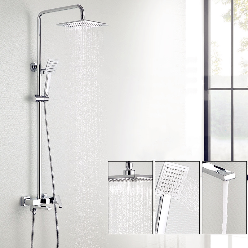 A shower for women's clean faucets