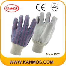 Самые дешевые кожаные рабочие перчатки для рук (110201)